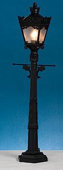 Tabletop Street Light, Street Light Centerpiece, Lamppost Centerpiece