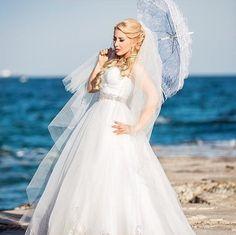 We LOVE This Photo of #DemetriosBride Maria! So Pretty! #realbrides