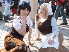 Poor Snow White and Cinderella by falketta.deviantart.com on @deviantART