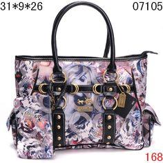 49faf1b59fa Coach bag - purple girl print Coach Coin Purse, Pink Coach Purses, Coach  Clutch