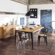 Industrial style furniture and decor Living Room Furniture Uk, Hallway Furniture, Industrial Wall Shelves, Industrial Style Furniture, Mango Wood Dining Table, Dining Room Bench Seating, Style Deco, Affordable Furniture, Modern