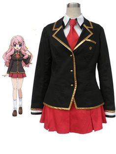 $175.01Beautiful Baka To Test To Shoukanjuu Winter Girls #Uniform #Cosplay #Costume