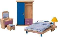 Plan Toy Doll House Bedroom – Neo Style