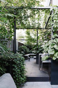 Marnie Hawson, purpose-driven interior, travel and lifestyle photographer — South Yarra courtyard for Australian House & Garden Outdoor Rooms, Outdoor Gardens, Outdoor Living, Dream Garden, Home And Garden, Landscape Design, Garden Design, Outdoor Landscaping, Courtyard Landscaping