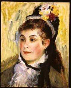 Pierre-Auguste Renoir - Portrait de Madame Edmond Renoir, 1876