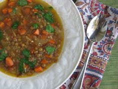 Post image for Middle Eastern Lentil Quinoa Soup