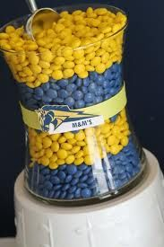 Got to have M & M's in Mercer's School colors!