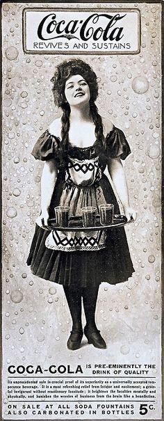 Vintage Coke Lady