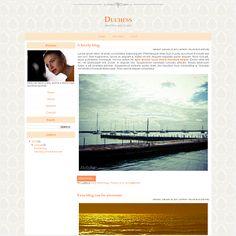 "Glória H Design | ""Duchess"" - Blogger, Worpress (one-of-a-kind) | LIVE PREVIEW  http://1314v.blogspot.com ($27) #blog #layout #template #theme #custom #design #blogger #blogspot #wordpress #blogdesign"