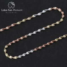 Cheap fine jewelry, Buy Quality chain necklace directly from China chain necklace for women Suppliers: Lotus Fun Real 925 Sterling Silver Handmade Fine Jewelry Top Quality Sparkle Twisted Necklace Chain for Women Collier Acessorios Necklace Types, Necklace Chain, Lotus Necklace, Karma, Fashion Necklace, Fashion Jewelry, Fashion Clothes, Silver Prices, Butterfly Pendant