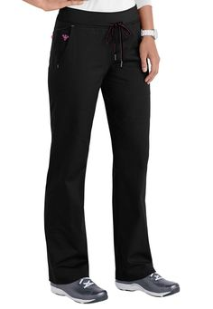 Med Couture Freedom Yoga scrub pants. Main Image