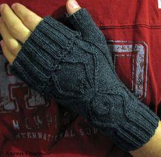 Arachnid II pattern by Karen Fournier #knit