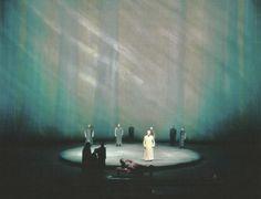 """"""" Parsifal """" 1.Akt 1.Bild 1965 Wieland Wagner Bühnenphoto"""