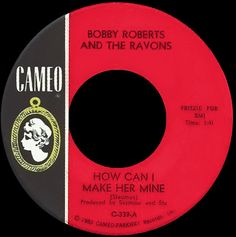 robby roberts and the ravons - how can i make her mine /// listen to it on http://radioactive.myl2mr.com /// plattenkreisel - circular record shelf, dj booth, atomic cafe, panatomic, records, rod skunk, vinyl, raregroove, crate digging, crate digger, record collection, record collector, record nerd, record store, turntable, vinyl collector, vinyl collection, vinyl community, vinyl junkie, vinyl addict, vinyl freak, vinyl record, cover art, label scan