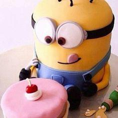 Minion taart!!!