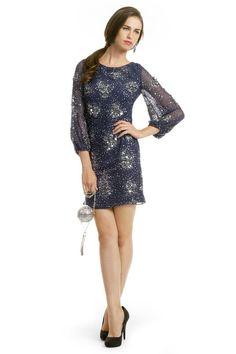 Badgley Mischka Orion Sequin Orbit Sheath Dress- I love love looove this dress <3