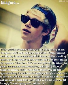 I so want this to happen! Q García García Duarte… imagine, we finally go into the City together, just walking around downtown. One Direction Images, I Love One Direction, Niall Horan Imagines, I Love Him, My Love, Five Guys, Irish Boys, James Horan, 1d And 5sos