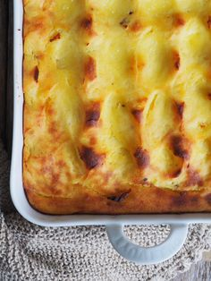 Baked Mashed Potatoes, Food And Drink, Pizza, Cheese, Baking, Bakken, Backen, Sweets, Pastries