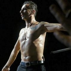 Are we sure he is 52??!!! Oh My Word! ♡♡♡ Amazing Dave Gahan.