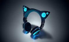 Voici un casque qui vous fera ressembler à un magnifique félin