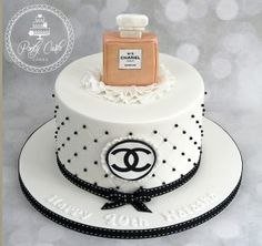 Inspiration Image of Chanel Birthday Cake . Chanel Birthday Cake Chanel No 5 Birthday Cake Pinte Chanel Birthday Cake, 5th Birthday Cake, Adult Birthday Cakes, Birthday Cakes For Women, Themed Birthday Cakes, Happy Birthday Cakes, Chanel Torte, Coco Chanel Cake, Bolo Channel