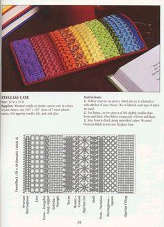 Gallery.ru / Фото #31 - Stitch Dictionary Plastic Canvas - Orlanda