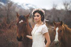 Gorgeous bridal sesh on Utah Bride Blog taken in Northern Utah by Kylee Ann Photography