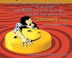 Dennis McKenna from Neurons to Nirvana