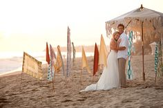 Cultural Surf Sand Wedding