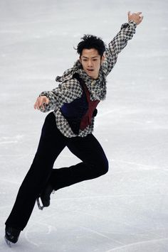 View the Olympic photo: Daisuke Takahashi - 2010 Vancouver Olympic Winter Games from the Vancouver 2010 gallery up close, plus get access to similar photos and related galleries. Winter Olympic Games, Winter Games, Winter Olympics, Vancouver, Japanese Figure Skater, Nagano, Figure Skating, Winter Jackets, Athletes
