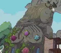 crystal temple from Steven Universe on the pilot episode. I think it's completely confirmed that the statue is the fusion between Rose, Garnet, Amethyst and Pearl, I mean...how could we've been so blind!