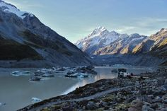 One Day in Aoraki/Mount Cook - This Wild Life Of Mine - travel and wildlife blog Mount Cook, Wild Life, New Zealand, Mount Everest, Sunrise, Destinations, Hiking, Ocean, Mountains