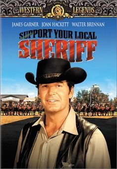 One of My Top Fave James Garner Movies! Support Your Local Sheriff DVD ~ James Garner