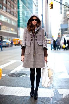 City girl...Want this coat!