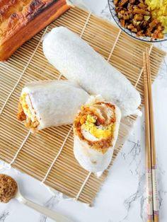 Vietnamese Recipes, Asian Recipes, Ethnic Recipes, Vietnamese Food, Breakfast Items, Best Breakfast, Fan Tuan Recipe, Taiwanese Breakfast, Rice Rolls