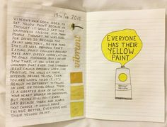 Everyone has their yellow paint