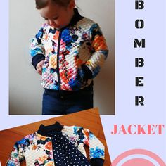 Floral Bomber Jacket: Tutorial and Free Pattern