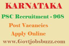 KPSC Recruitment 2015