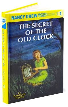 Nancy Drew books... wish I still had my collection!