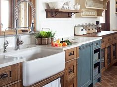 Farmhouse kitchens are some of our favorite kitchens. Get the look on Joss & Main.