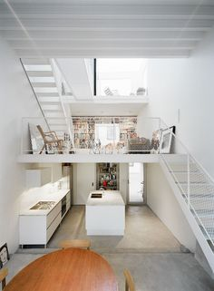 31 Inspiring Mezzanines to Uplift Your Spirit and Increase Square Footage - http://freshome.com/2013/11/12/31-inspiring-mezzanines-to-uplift-your-spirit-and-increase-square-footage/