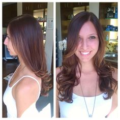INOA Brunette Subtle balayage and Haircut by Dean Anthony Salon+Spa in Long Beach, Ca. Great hair, gorgeous hair, long hair, blowout, hairstyle. Balyage, baliage.