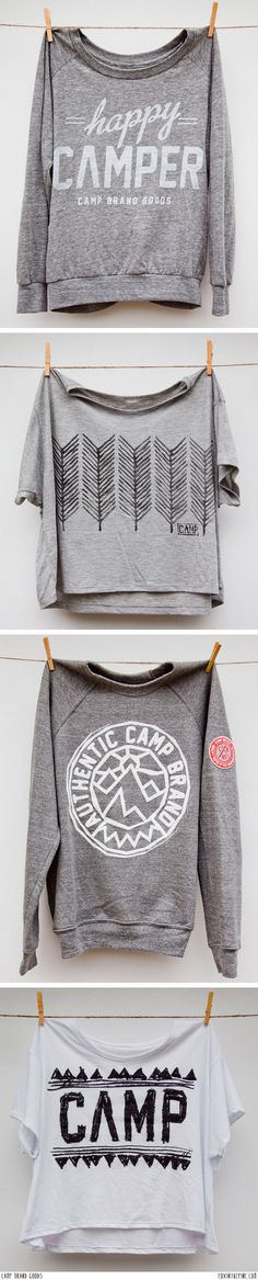 Camp Brand Goods // FOXINTHEPINE.COM