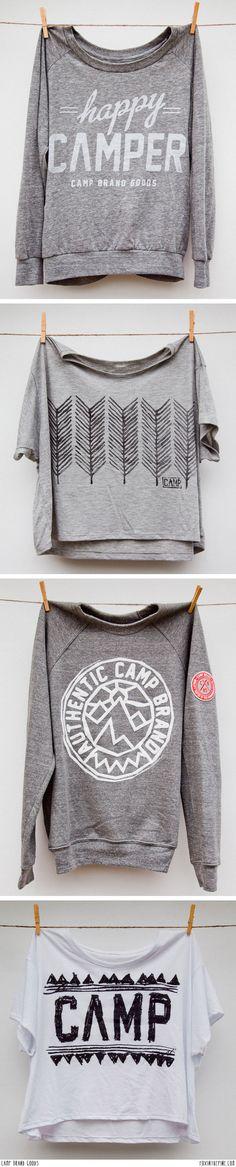 Camp Brand Goods   //   FOXINTHEPINE.COM