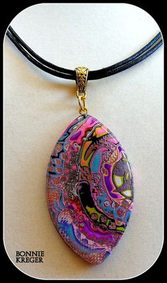 Sunshine Melody Pendant and Necklace by BonnieKreger on Etsy