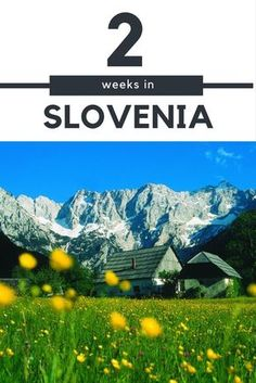 Slovenia Travel Blog: Slovenia is a must see destination in Eastern Europe. Spend two weeks in this beautiful country with this itinerary. Click to discover more!