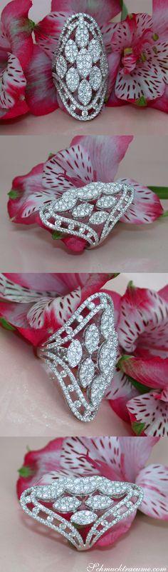 Art Deco Brosche Aus 14 Karat 585 Gold Mit Diamant Und Brillanten Weitere Rabatte üBerraschungen Broschen Unikate & Goldschmiedearbeiten