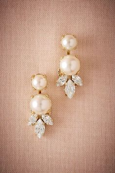 Pearl Cirque Earrings in New Shoes & Accessories at BHLDN