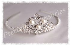 Annalise tiara... I also made matching jewellery to compliment the design.  Available from www.preciousaccessories.co.uk