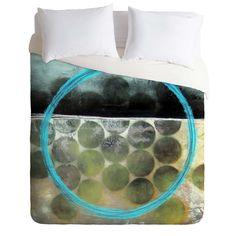 Sophia Buddenhagen Blue Circle Duvet Cover | DENY Designs Home Accessories